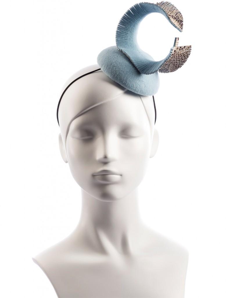 Solitary Snake - Pastel Blue